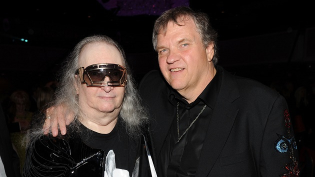 Jim Steinman and Meat Loaf in 2012; Larry Busacca/Getty Images for Songwriters Hall of Fame