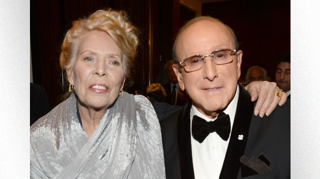 L: Joni Mitchell R: Clive Davis; Larry Busacca/Getty Images for NARAS