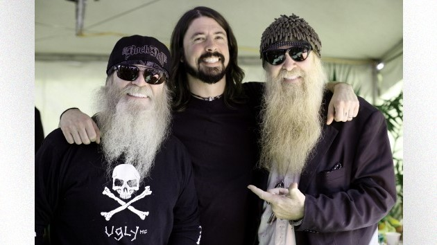 L-R: Dusty Hill, Dave Grohl, Billy Gibbons; Jim Steinfeldt/Michael Ochs Archives/Getty Images