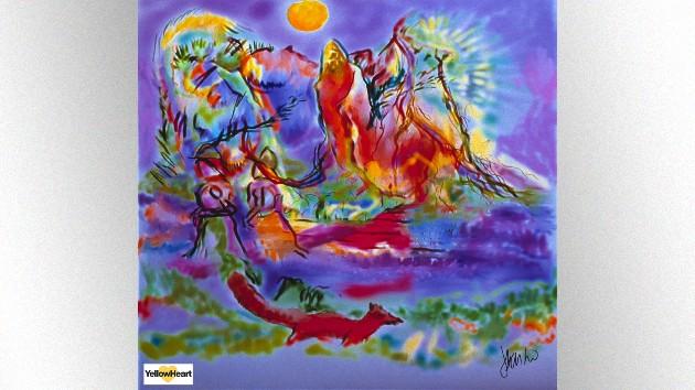Jerry Garcia. 'Junglescape.' 1992. Courtesy Yellowheart