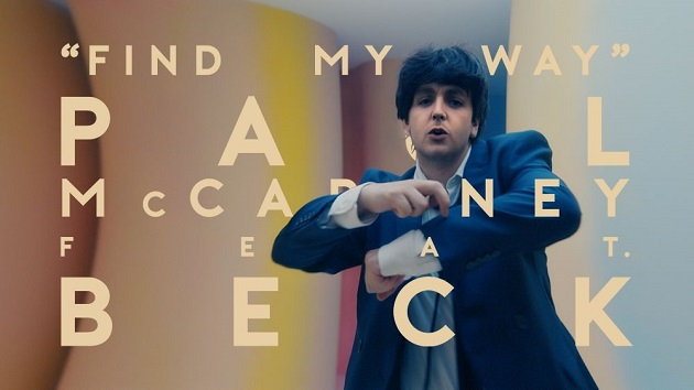 Courtesy of Paul McCartney