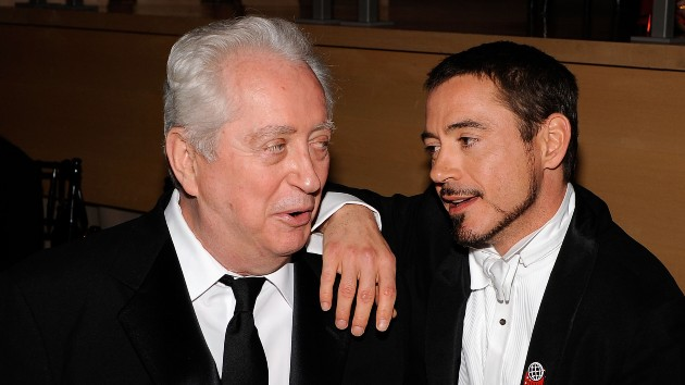 Downey Sr. and Jr. in 2008 -- Larry Busacca/WireImage
